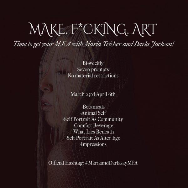 Make. F*cking. Art